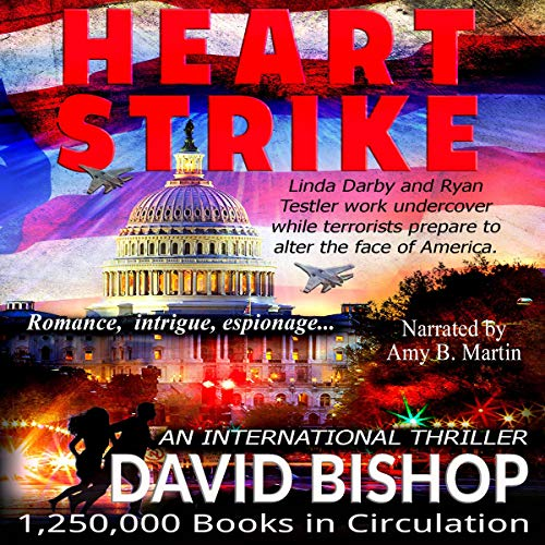 Audio Book Cover for Heart Strike - A Novel in the Linda Darby Series